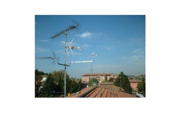 Montaggio antenne tv