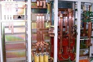 Quadri elettrici di potenza per forni industriali
