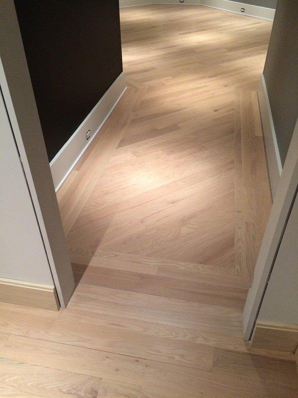 Elegant hardwood floor