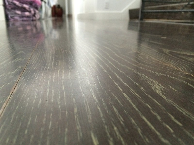 Quality hardwood floor finishes