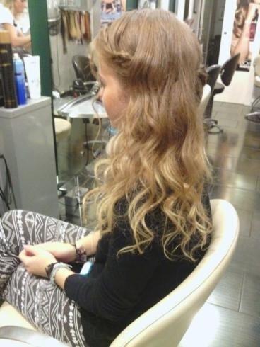 piega capelli bambina