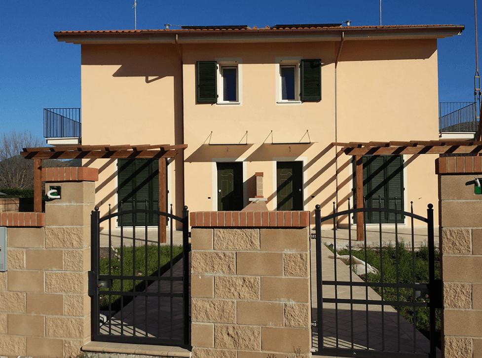 ingresso casa bifamiliare