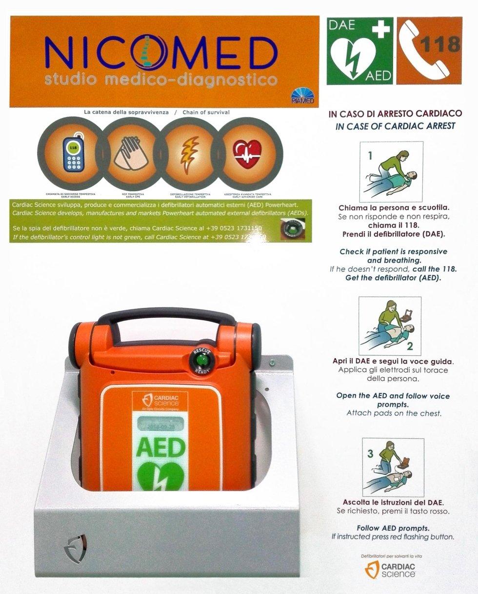 Defibrillatore Nicomed