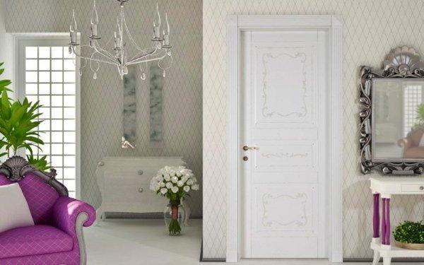 porta bianca antiquariato