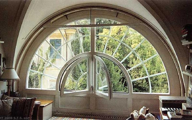 finestra con inglesina