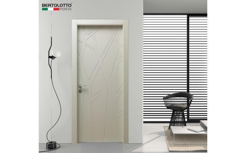 porta decorata legno
