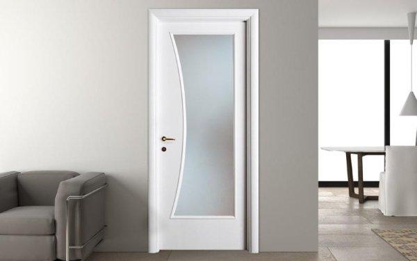 porta classica vetro