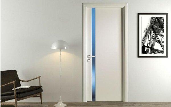 porta dettaglio blu