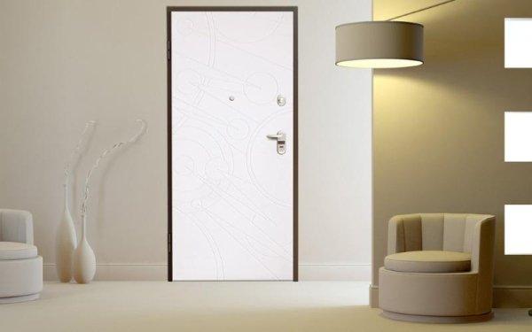 porta blindata chiara