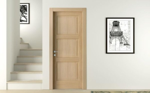 porta tranciato legno