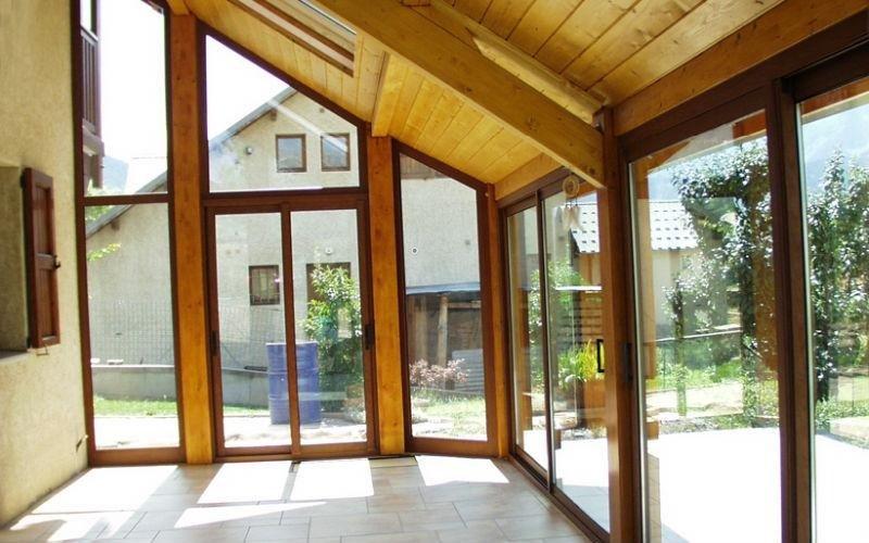 veranda interna legno