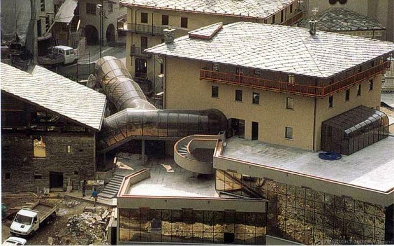 tunnel circolare collegamento