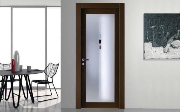 porta vetro legno