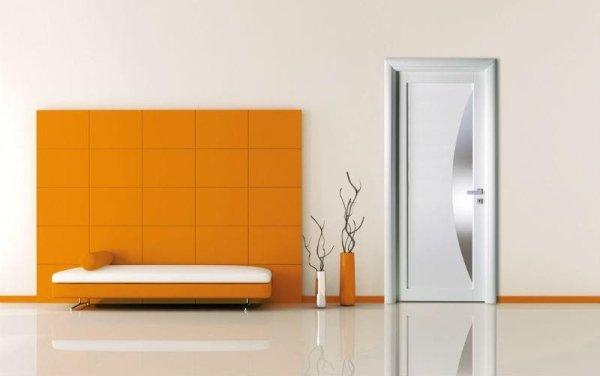 porta moderna chiara
