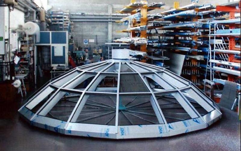 progettazione cupola