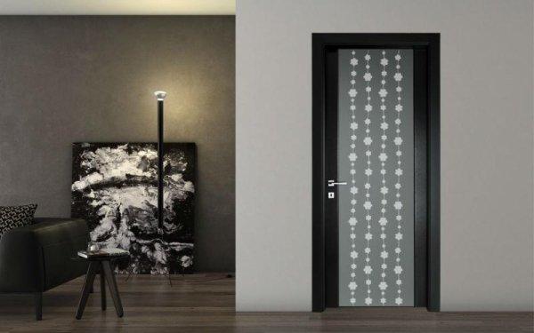 porta vetro decorato