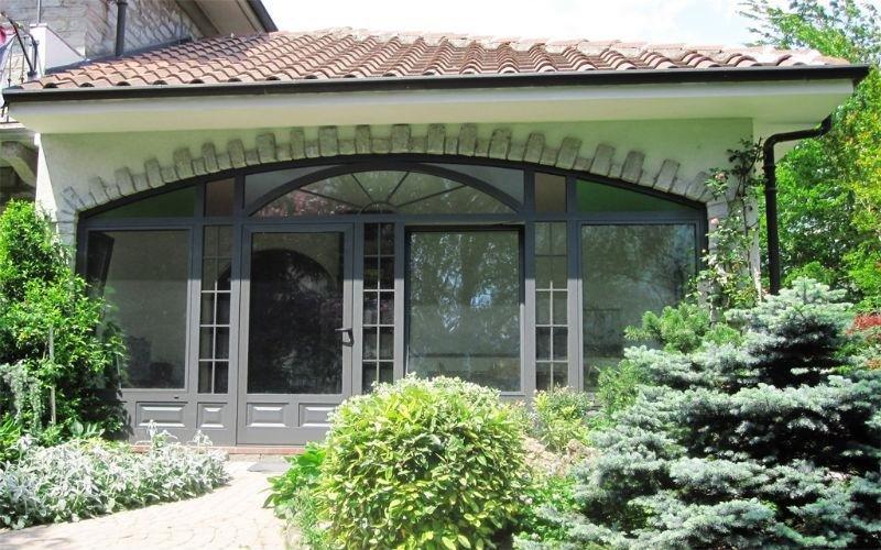 veranda metallo