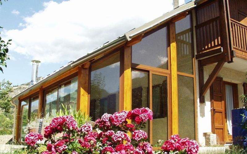 veranda legno