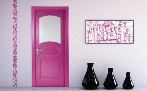 porta classica fucsia