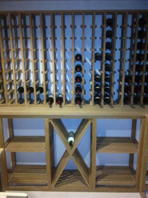 Joinery services - Dorking, Surrey - S M Carpentry - Wine racks