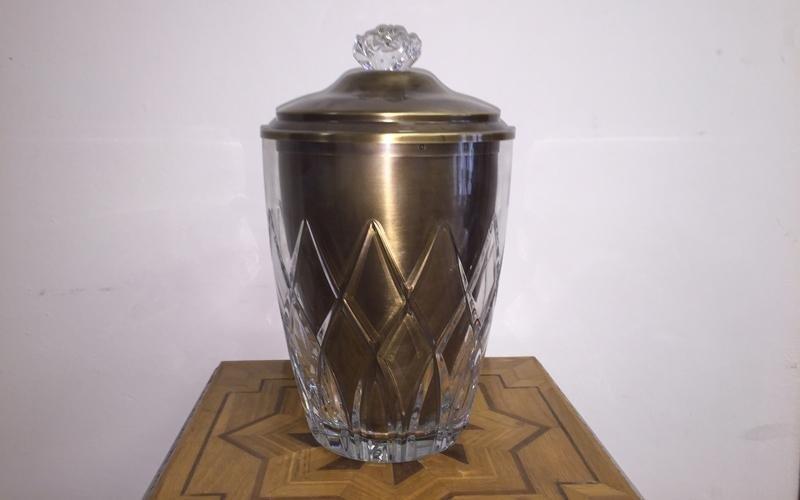 Urna ceneri in cristallo
