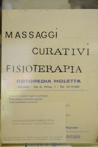 Fisioterapia ortopedia Moletta