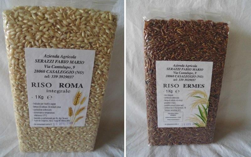 vendita riso roma novara