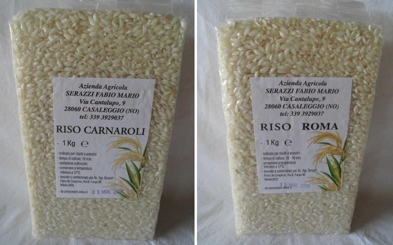 vendita riso carnaroli