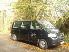 our minibus in sunshine