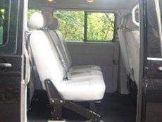 comfortable minibus seating