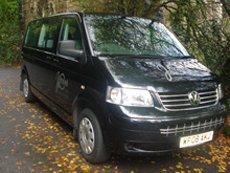 our black minibus
