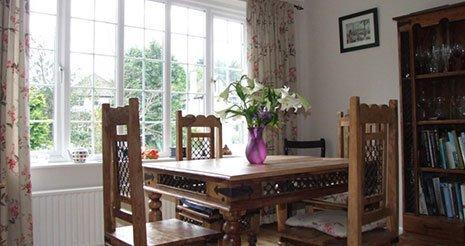 The dining room at Latona