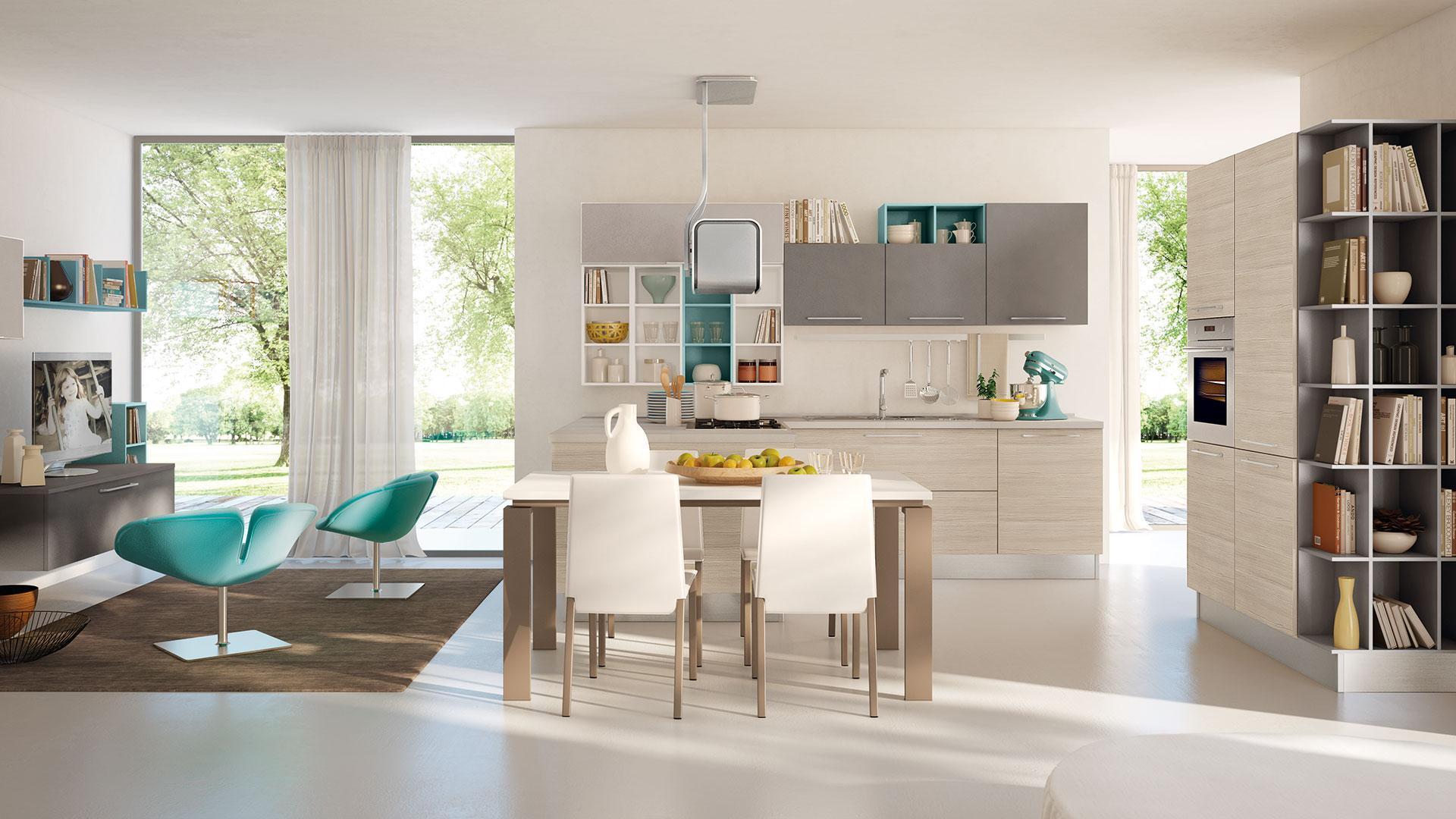 Cucina moderna modello Swing