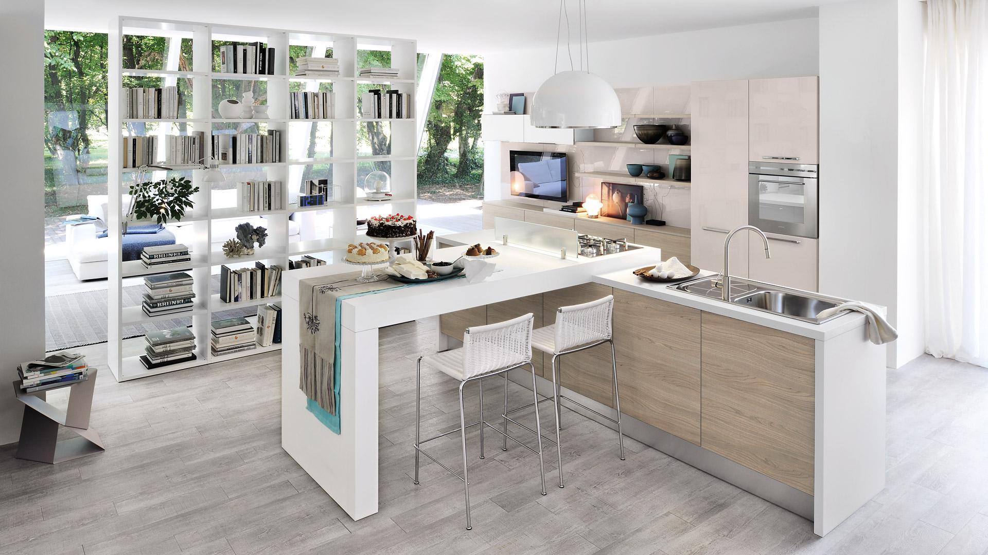 Cucine moderne lube cappelle dei marsi avezzano arredamenti d 39 andrea - Cucine piccoli spazi ...
