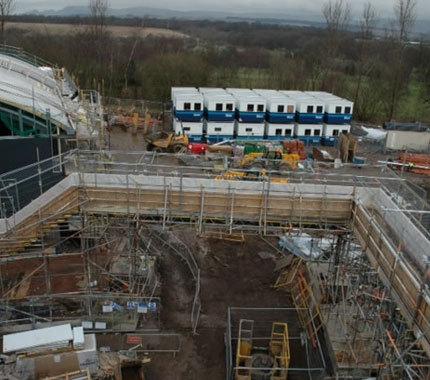 stadium scaffolding