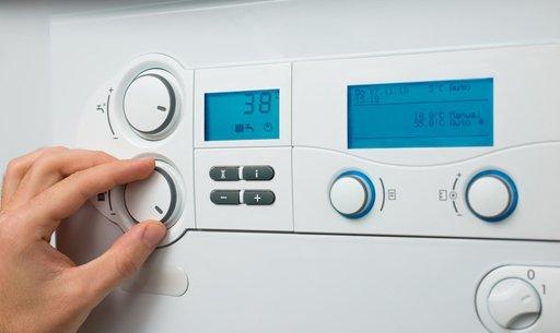 Adjusting a digital boiler control