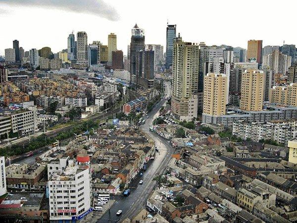 Panorama della citta