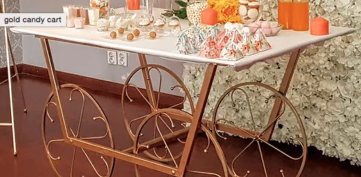 Luxury Cart Memory Table