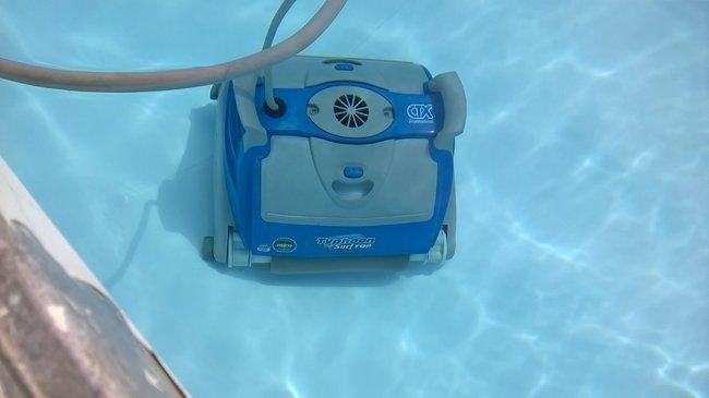 Pompa per la pulizia della piscina