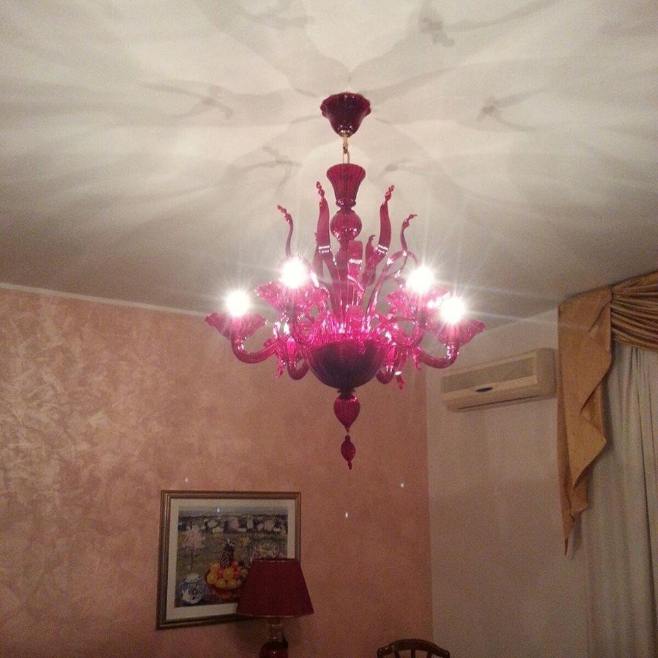lampadari vetro di murano