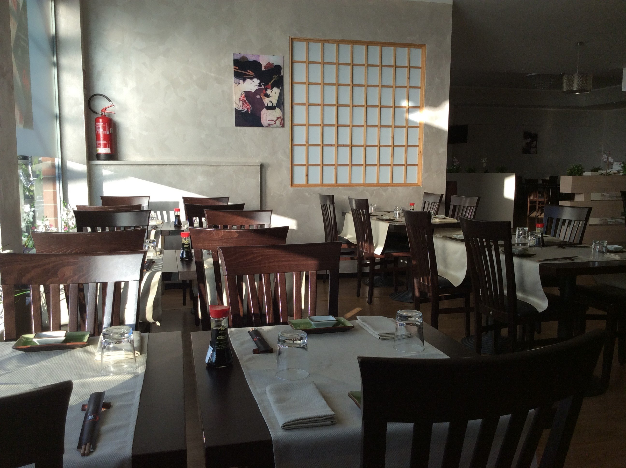 interno ristorante giapponese