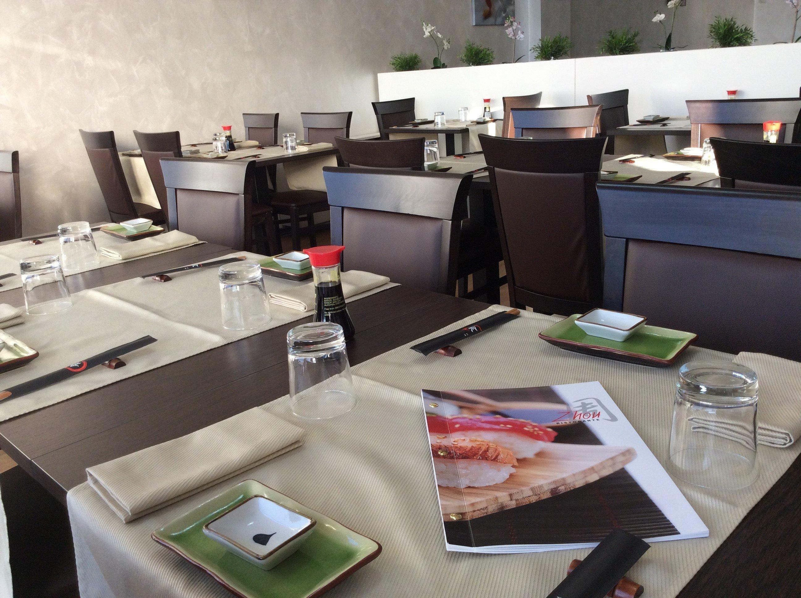 tavoli nel ristorante