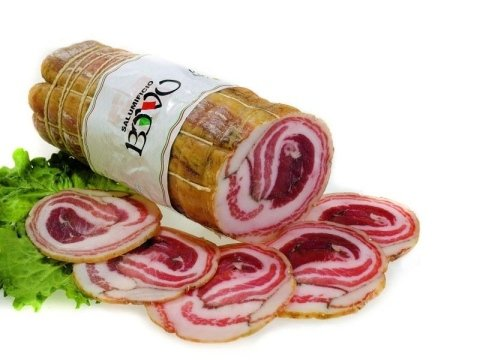 traditional rolled pancetta