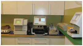 laboratorio per diagnosi clinica