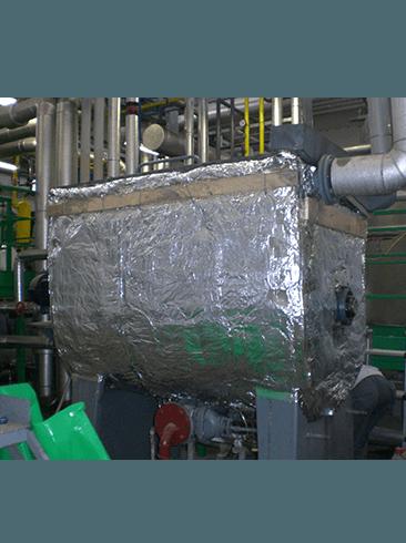 Alluminio su macchinario