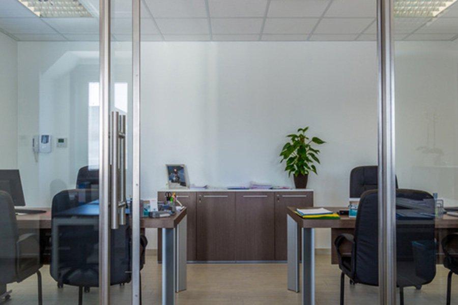 Interno dell'ufficio di Termotecnica Savio a Mira Venezia