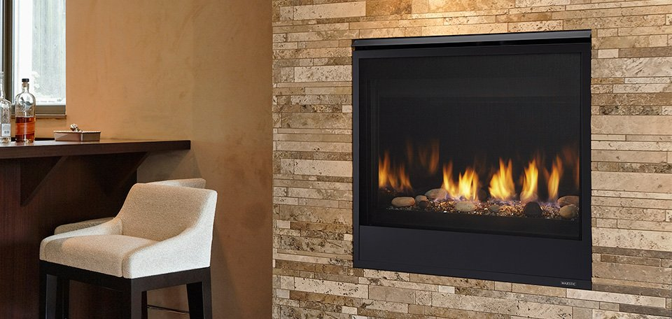 Majestic QUARTZ SERIES Direct Vent Gas Fireplace - Long Island, NY - Taylor's Hearth & Leisure