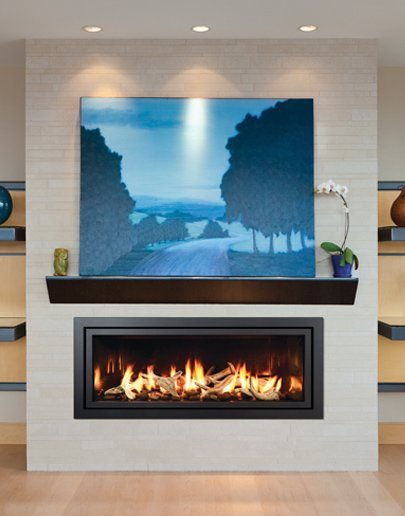 mendota fullview decor linear gas fireplaces - Long Island, NY - Taylor's Hearth & Leisure