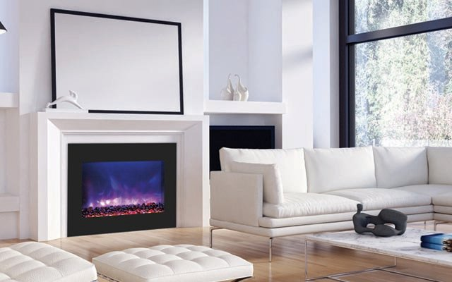 Amanti ZECL-39-4134-BG ZERO CLEARANCE ELECTRIC FIREPLACE - Taylor's Hearth & Leisure - Long Island NY
