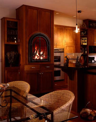 Mendota Chelsea gas fireplaces - Long Island, NY - Taylor's Hearth & Leisure